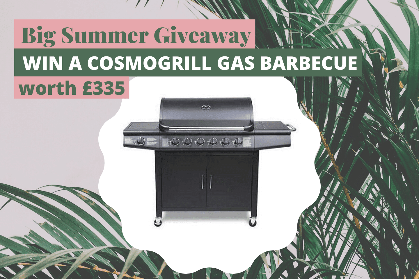 Cosmogrill BBQ Giveaway