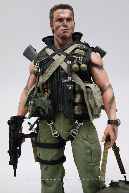 Toyhaven Hot Toys Mms276 1 6th Arnold Schwarzenegger As