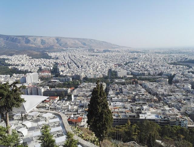 näkymä Lycabettukselta Agios Georgios