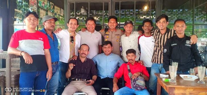 Kapolsek Tinggimoncong Gowa Di HPN dan HUT PWI 2020, Pererat Kemitraan Bersama Media