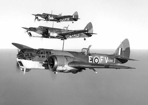 13 August 1940 worldwartwo.filminspector.com Blenheim bombers