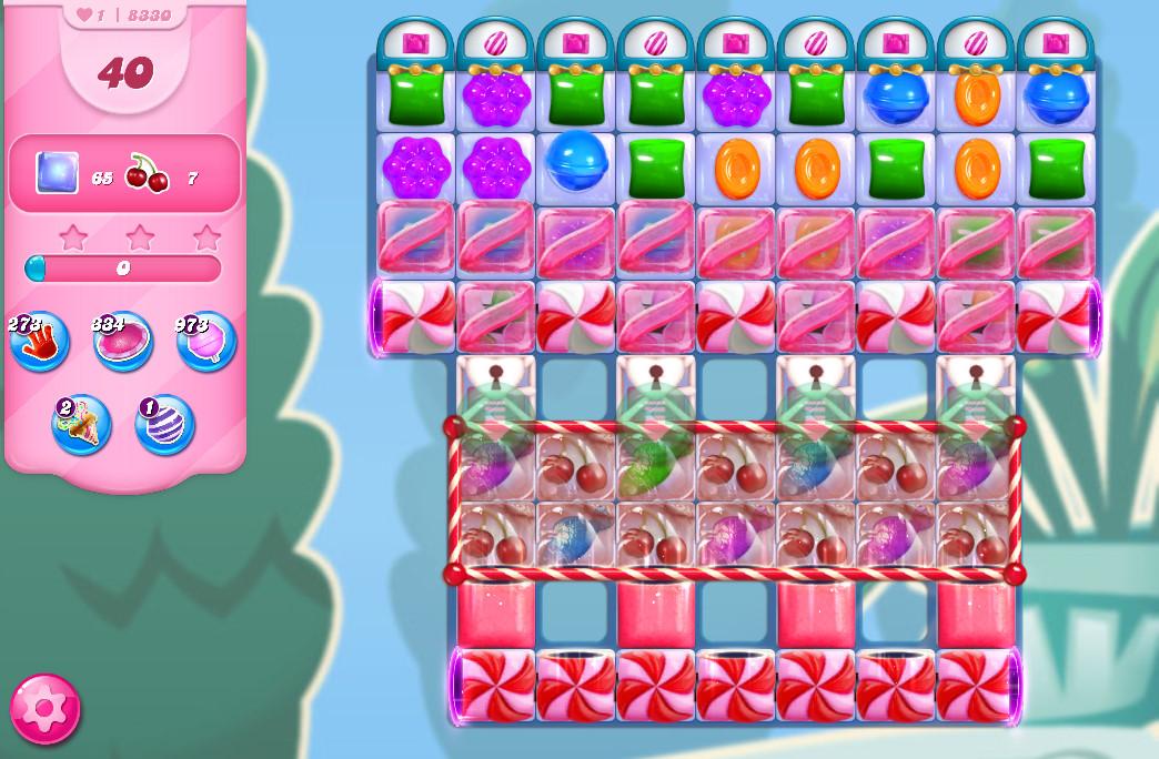 Candy Crush Saga level 8330