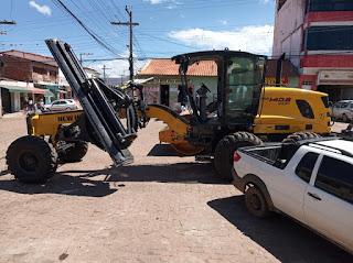 Piatã/BA: Prefeitura adquire uma Motoniveladora (Patrol) 0km