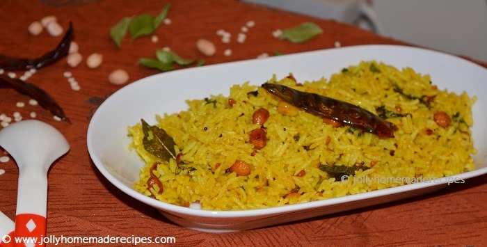 South Indian style Lemon Rice Recipe
