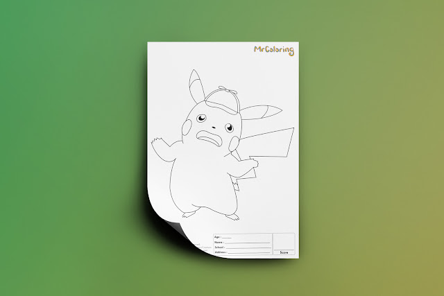 Free-Printable-Anime-Detective-Pikachu-Pokemon-Coloriage-Outline-Blank-Coloring-Page-pdf-For-Kids-Kindergarten-Preschool-toddler-coloring-sheets1