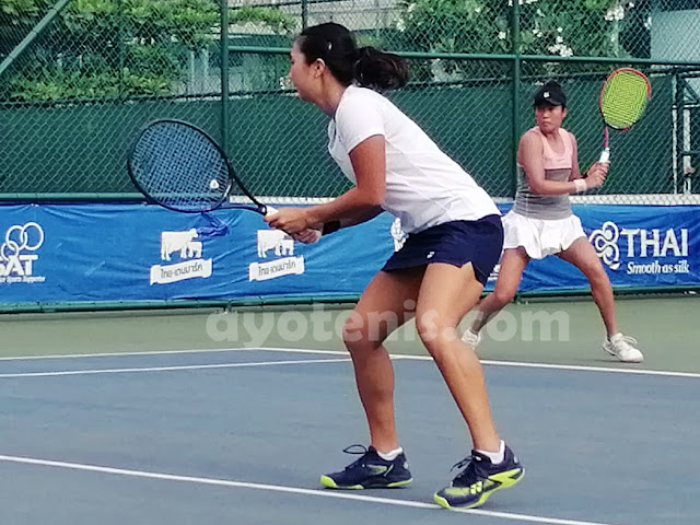 Aldila Sutjiadi Melaju ke Final ITF World Tennis Tour Thailand 25K