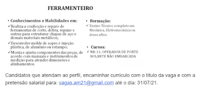 FERRAMENTEIRO