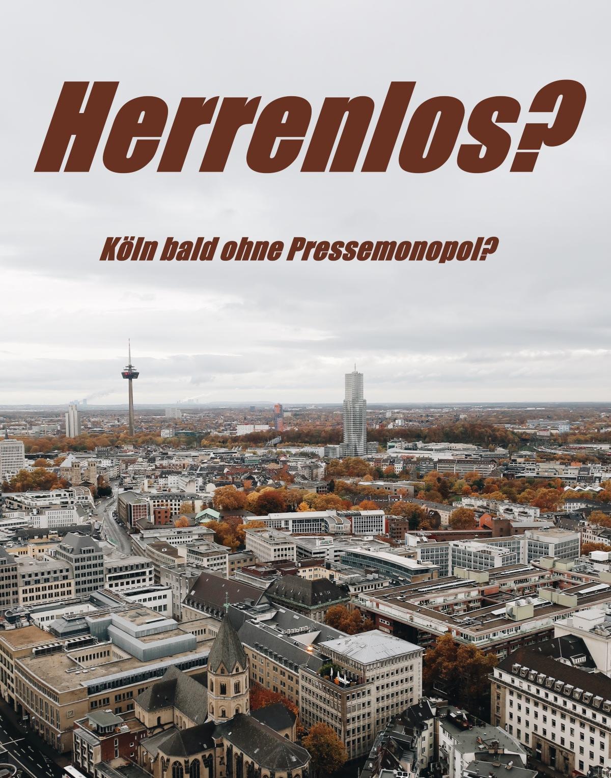Köln, Presse, Monopol, DuMont, Verlag, Verkauf, Kölner Stadt-Anzeiger, Express