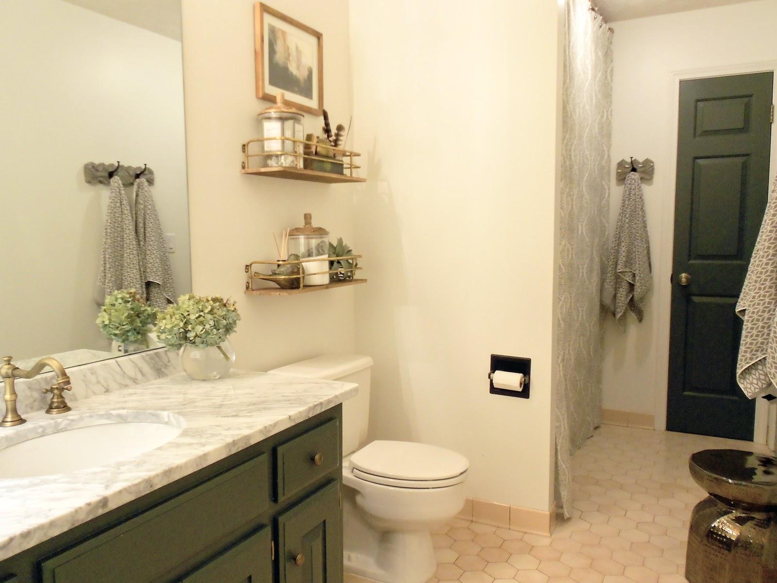Guest Bath Makeover - Oak House Design Co.