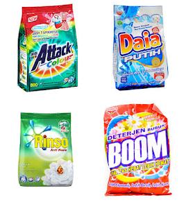 Daftar Merek Detergen di Indonesia