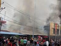 BREAKING NEWS: Kerusuhan di Papua Barat Berlanjut, Pasar di Fakfak Dibakar masa