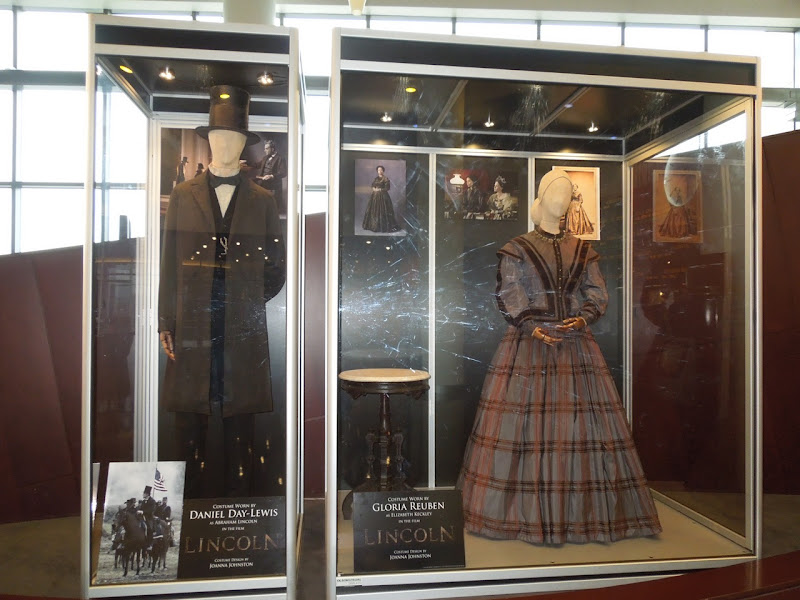 Lincoln movie costume exhibit
