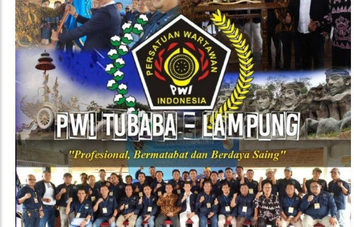 PWI Tubaba Akan Surati Media Online Trans Sumatera .