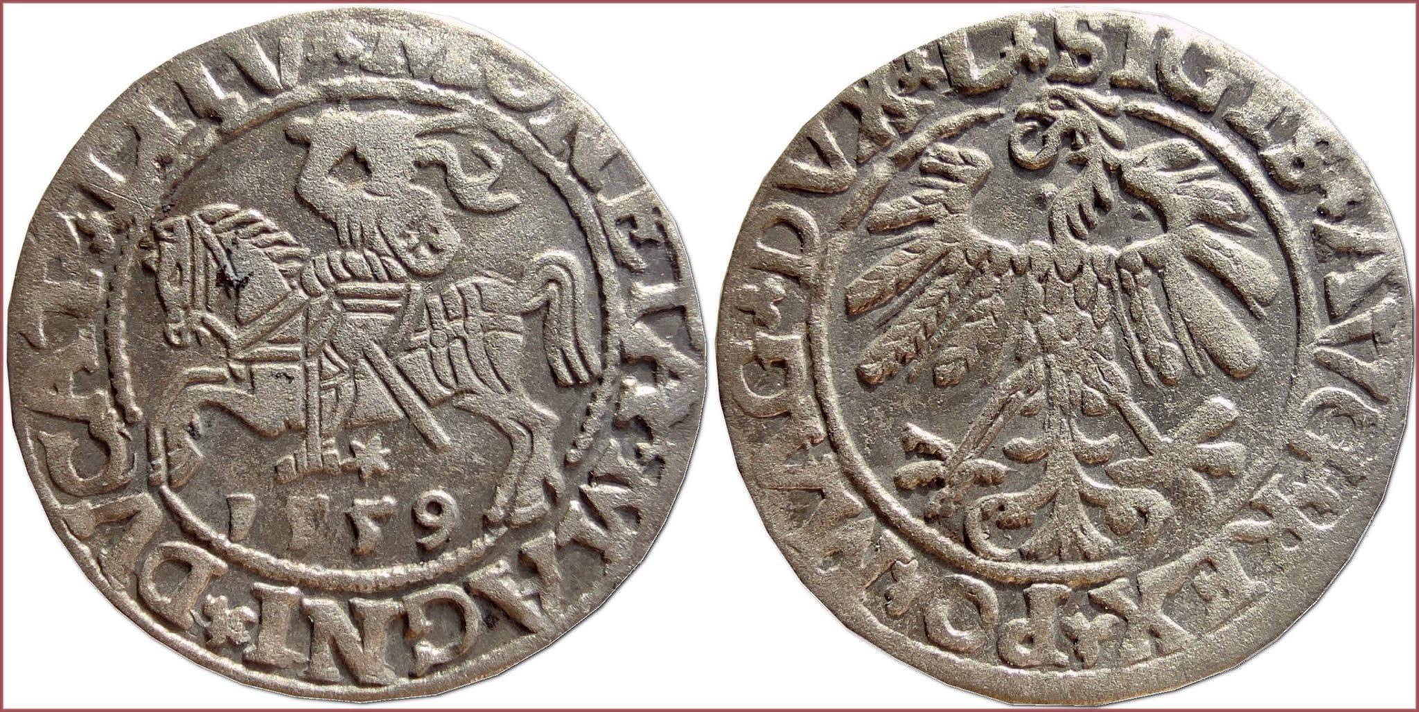 Polgrosz (Półgrosz), 1559: Grand Duchy of Lithuania