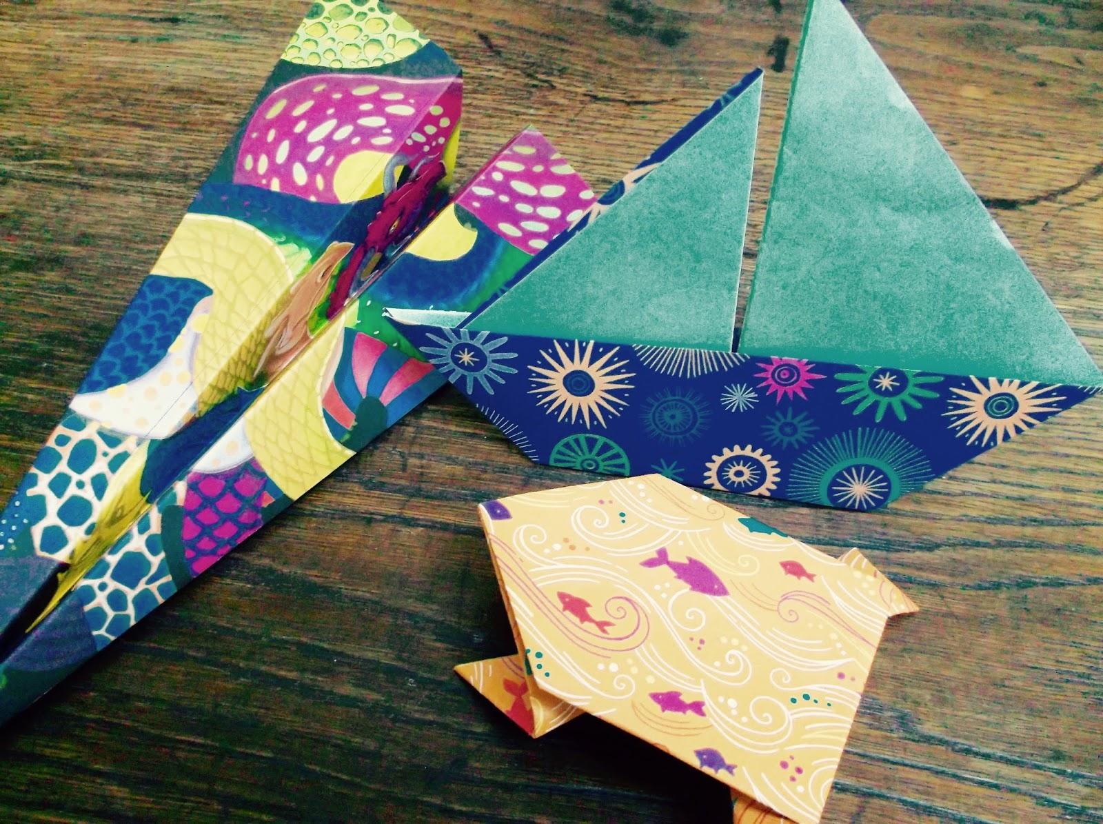 poison darling origami quand tu nous tiens l art du. Black Bedroom Furniture Sets. Home Design Ideas