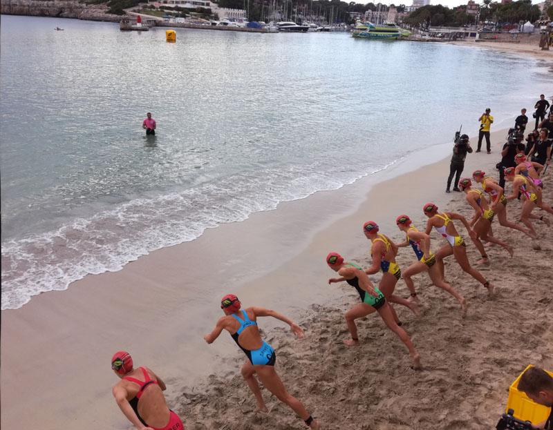 Triathlon a Porto Cristo