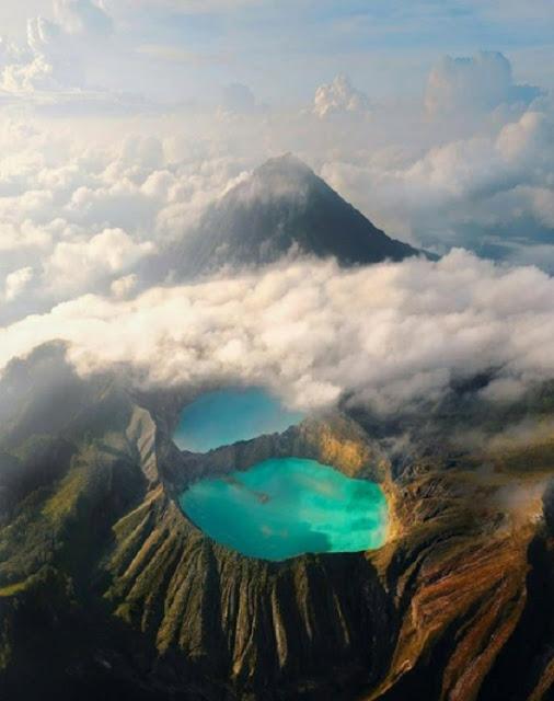 Destinasi Wisata Danau Kalimutu Nusa Tenggara Timur