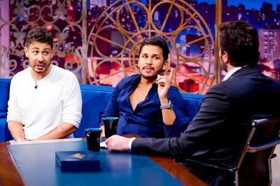 Carlinhos, Lucas e Danilo (Crédito: Gabriel Cardoso/SBT)