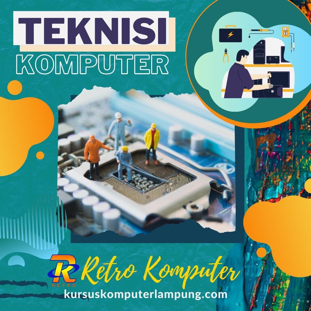 Privat Teknisi Komputer Pro di Bandar Lampung