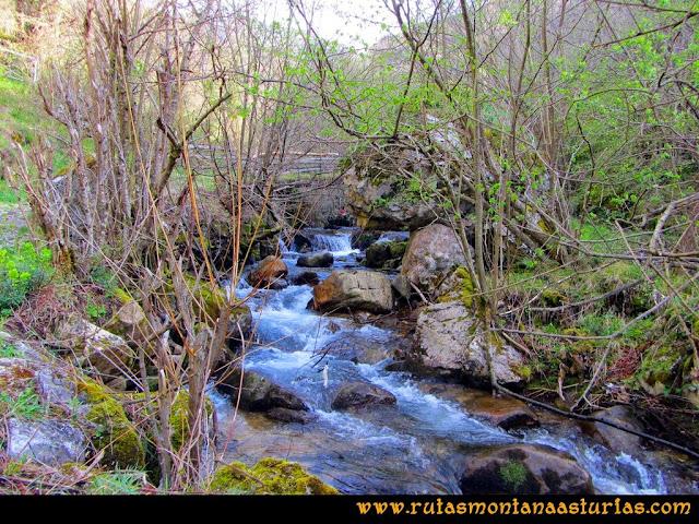 Ruta Retriñon: Puente sobre arroyo Fresneo
