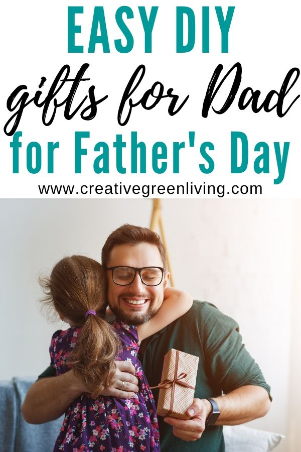 12 easy DIY gift ideas that you can make dad for father's day. Includes easy gifts and crafts kids can make for dad. #fathersday #fathersdaygiftideas