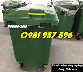 Thùng rác y tế, thùng rác công nghiệp, thùng rác 660l