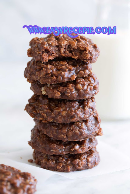 Classic and Easy Chocolate no-bake Cookies Recipe at Home