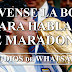 ¡Lávense la boca para hablar de Maradona!