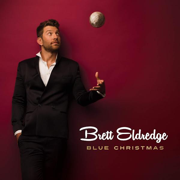 Brett Eldredge - Blue Christmas - Single Cover