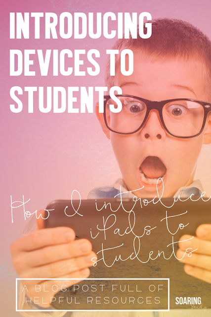Learn how to introduce devices to students in the classroom and how to keep kids ACCOUNTABLE for the device rules you come up with.