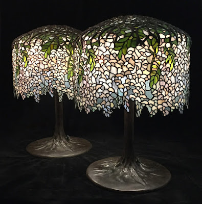 """Lamp of the Week: 18"""" Wisteria"""
