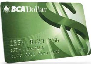 Kartu ATM BCA Dollar