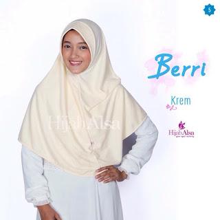 Hijab Alsa Berri Krem