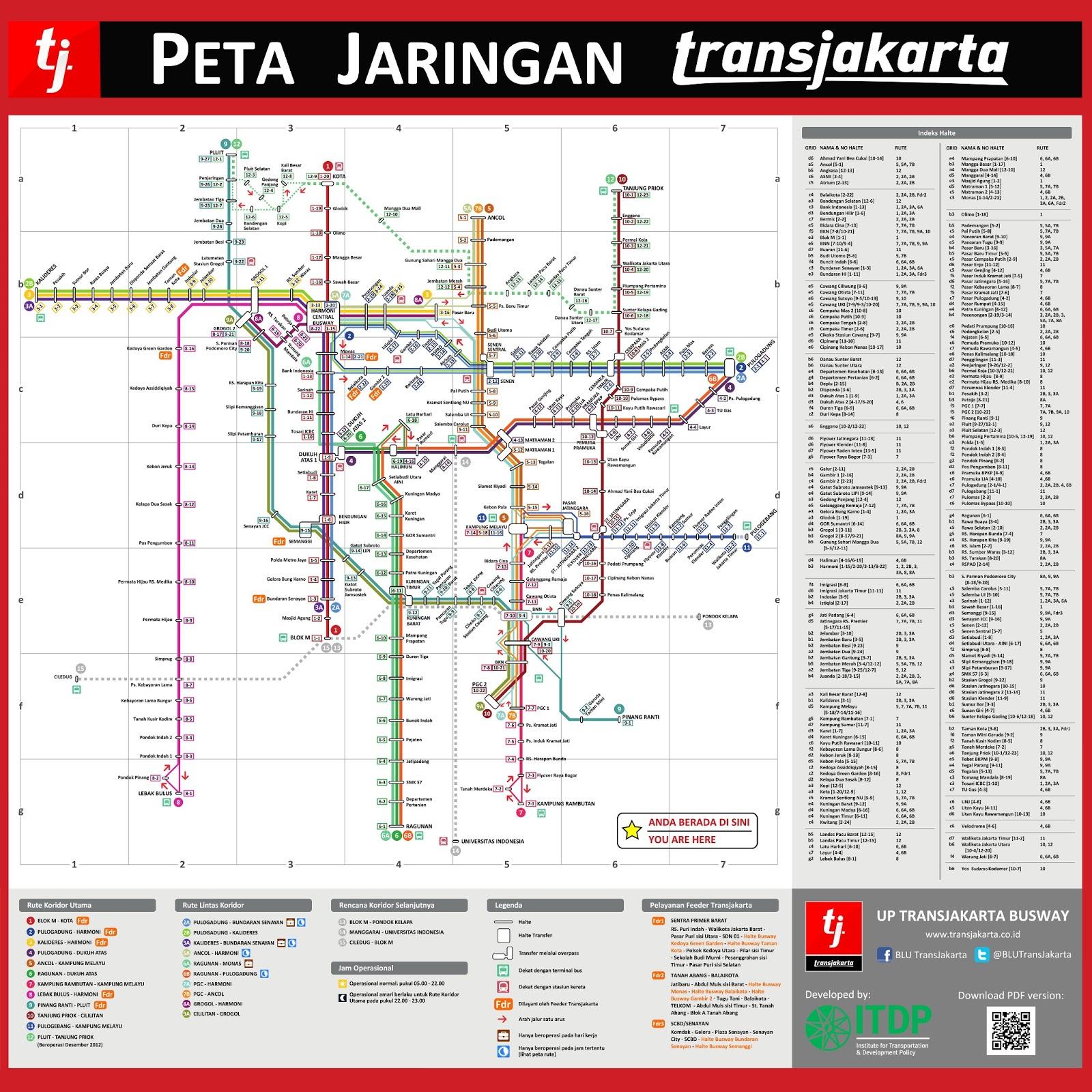 Rute Transjakarta Pdf