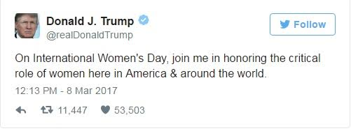 You Wont Believe What Twitter Users Did To Donald Trump When He Twitted About His Respect For Women 2