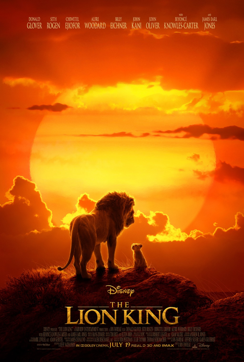 獅子王真人版 - The Lion King (2019)