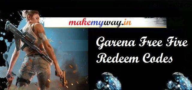 garena free fire redeem coupons