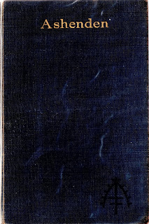 cover of the first uk edition of Somerset Maugham's Ashenden, 1928