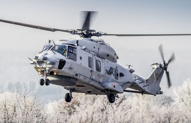 NH90 NFH helicopter