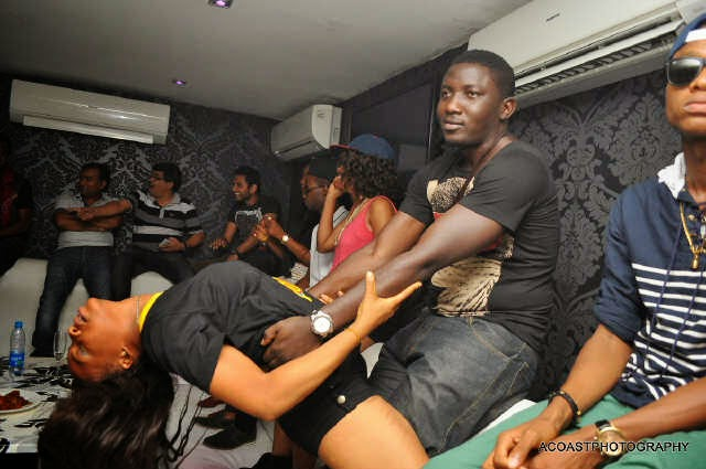 e Don Jazzy, Tiwa Savage, others @ The Place for #MTNCelebDouble rave