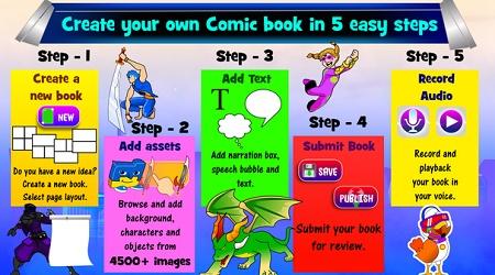 cara membuat komik online
