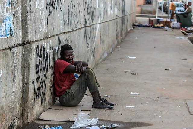 Imagen de los niveles de pobreza en algunas ciudades americana