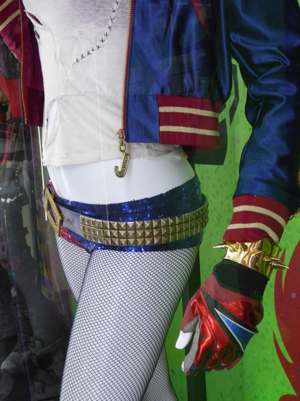 Suicide Squad Harley Quinn costume detail