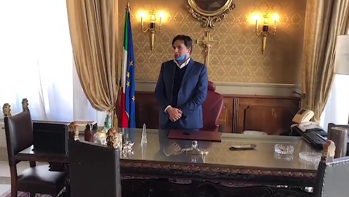 Il sindaco Salvo Pogliese riprende le attività al Comune