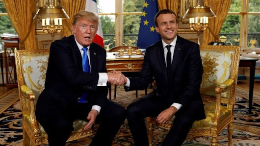 SPECIAL REMINDER : MACRON TO VISIT U.S. FOR THREE DAY VISIT THIS WEEK