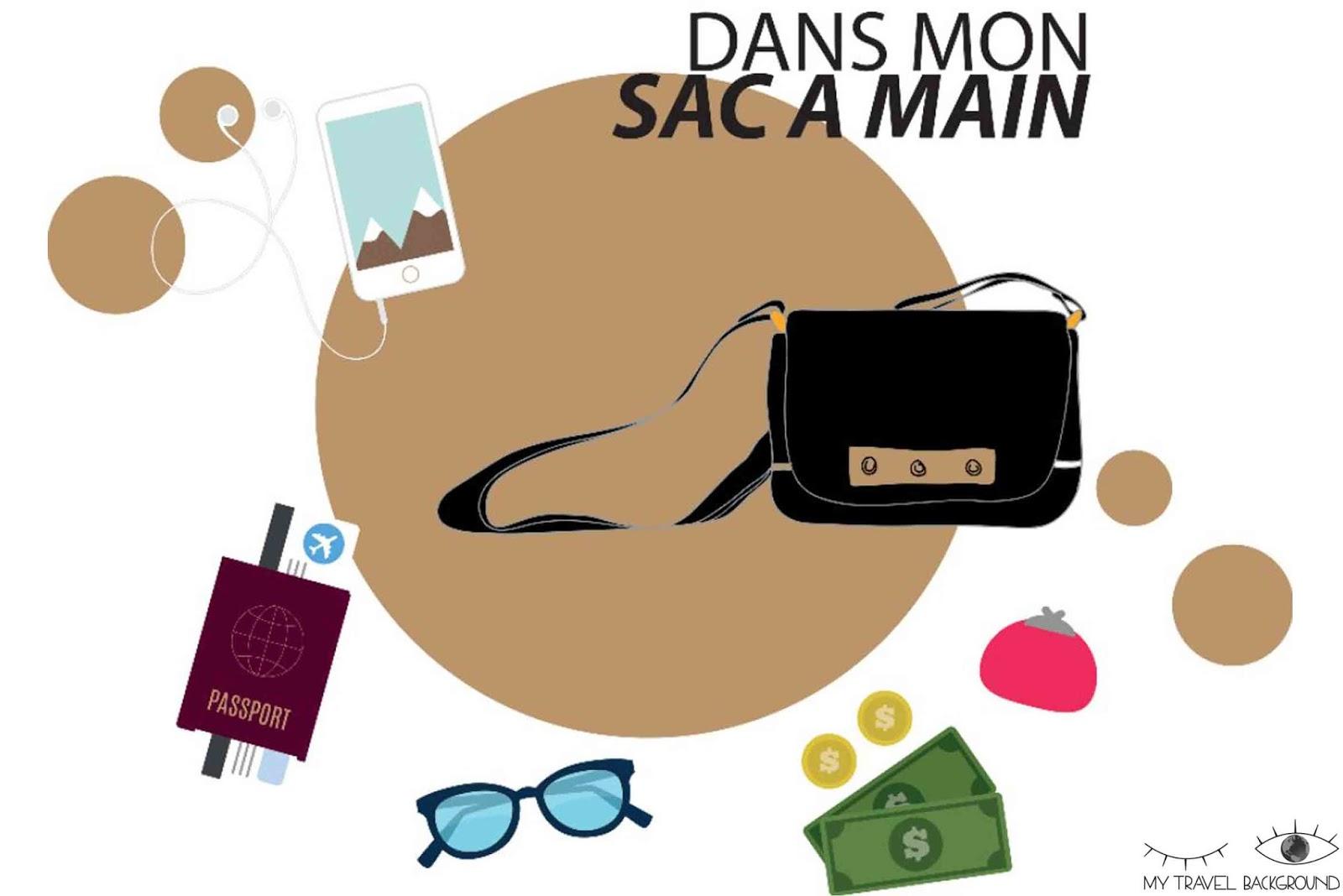 My Travel Background : Comment organiser sa valise pour un long voyage? - Dans mon sac à main