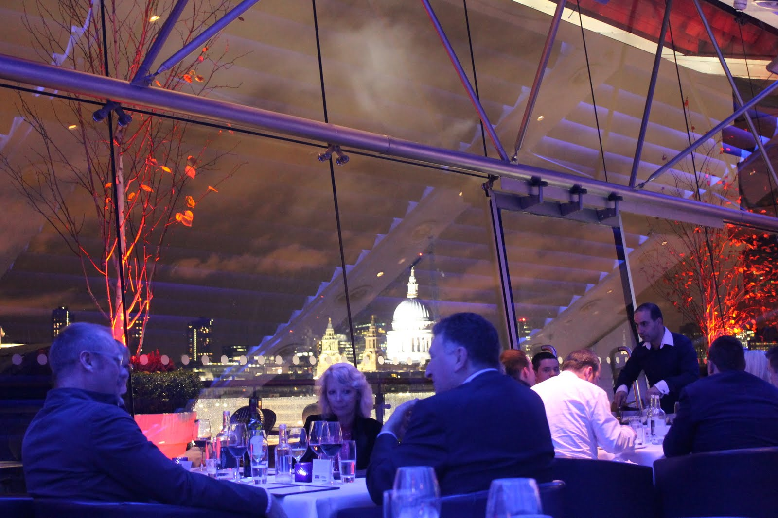 Oxo Tower Restaurant Michelin Star