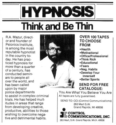 Hypnosis - Think and be thin
