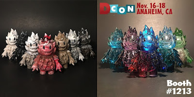 Leecifer's Designer Con 2018 Exclusive Honoo & Spark Resin Figures