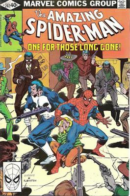 Amazing Spider-Man #202, the Punisher